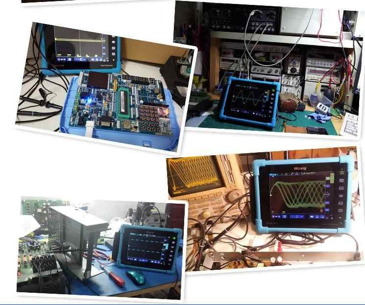 1GSa/秒 100 Mhz オシロスコープデジタル収納タブレットタッチスクリーン自動車 Scopemeter デュアルチャンネル USB Osciloscopio TO1102