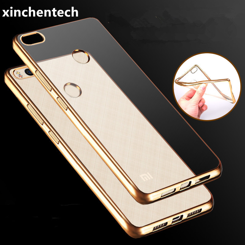 Xinchentech Global Version For Xiaomi Redmi 4X Case Luxury Plating TPU silicone Back Cover Accessory Coque For Redmi4X Pro Prime