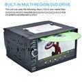 AUTO 6.5 En ANDROID Car Video Reproductor de DVD Con Pantalla Táctil Bluetooth Electrónica de Automóviles En El Tablero estéreo Radio MP5 Car Audio USB feb14
