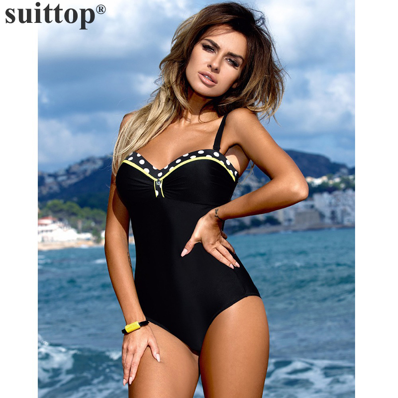 suittop One Piece Stripe Monokini Swimsuit Women Patchwork Swimwear Sexy Push Up Bathing Suit Plus Size Swimming Suit Beach Wear sexy one piece swimsuit plus size swimwear women bathing suit beach wear backless swimsuit monokini