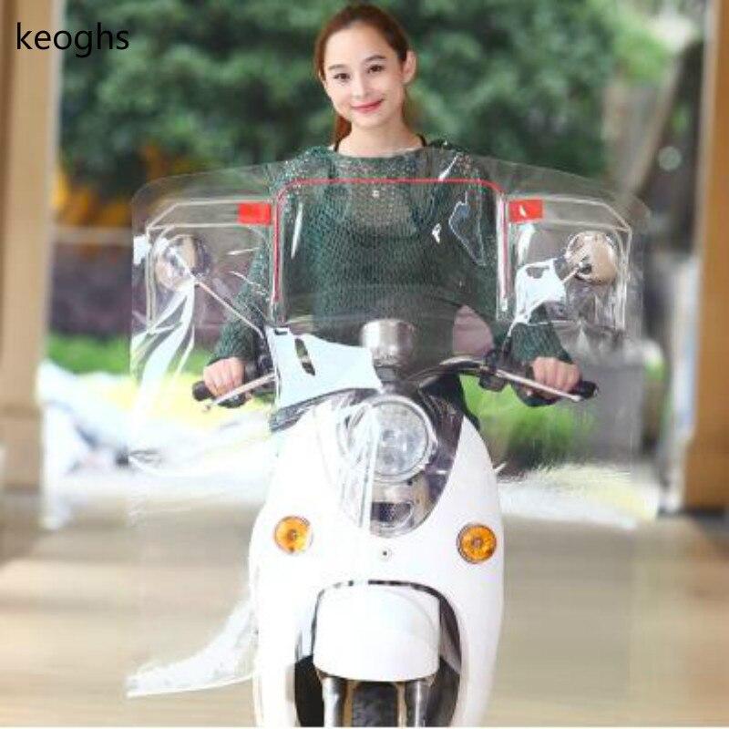 PVC motorcycle windshield motorcycle wind deflector scooter windscreen deflector street glide motorbike Wind Deflectors