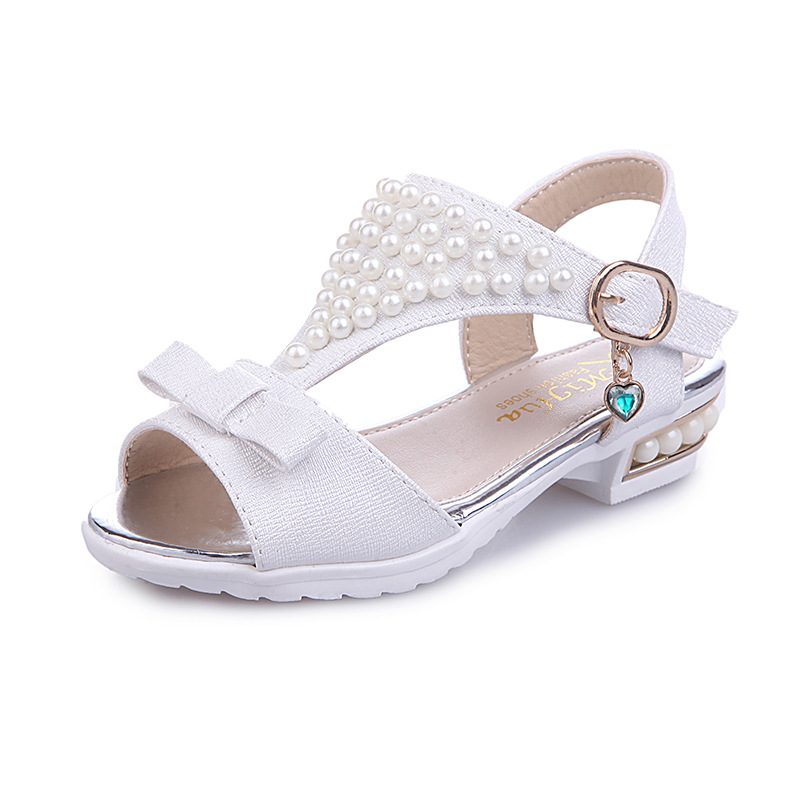 Girl Sandals 2018 new Girl Kids Sandals Fashion ChildrenS Shoes Girls Summer Sandals Beach Shoes S Princess Beading Shoes ...