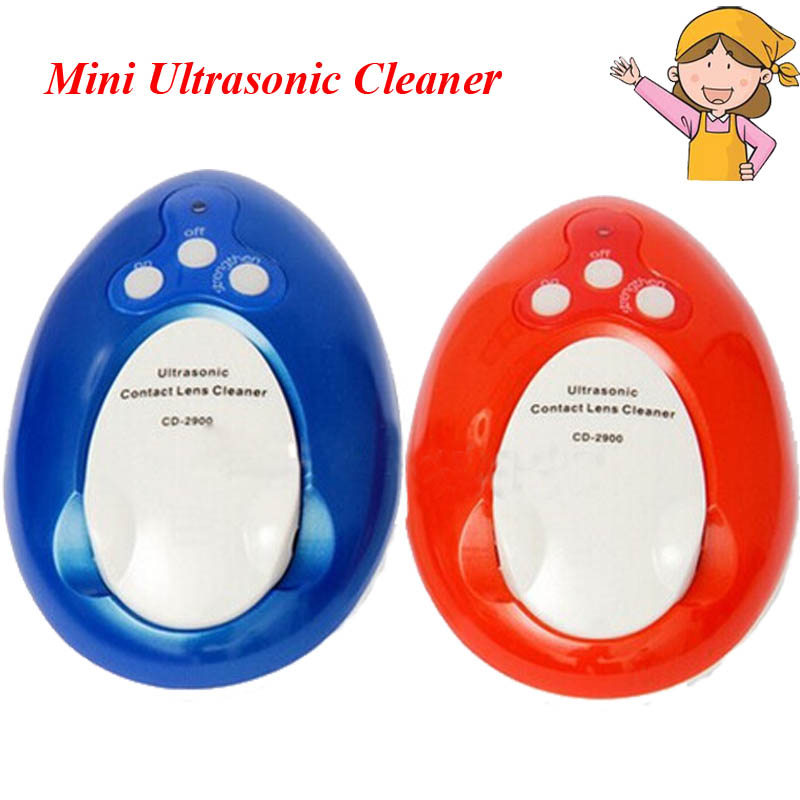 1pc Colorful Mini Ultrasonic Cleaner Contact Lens Cleaner CD-2900