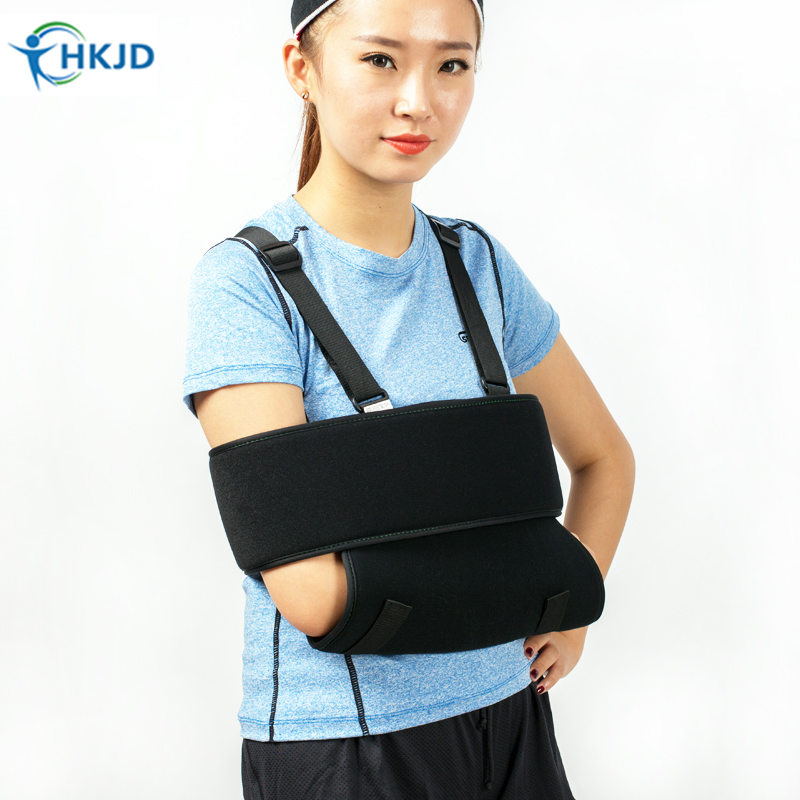 Orthopedic Adjustable Arm sling Shoulder Wrist Elbow Rotator contusion and strain Arm Swathe Support for fracture injury Brace