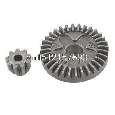 Angle Grinder Straight Bevel Gear Set 2 Pcs for Bosch GWS 6-100 set of driven cambered angle gear