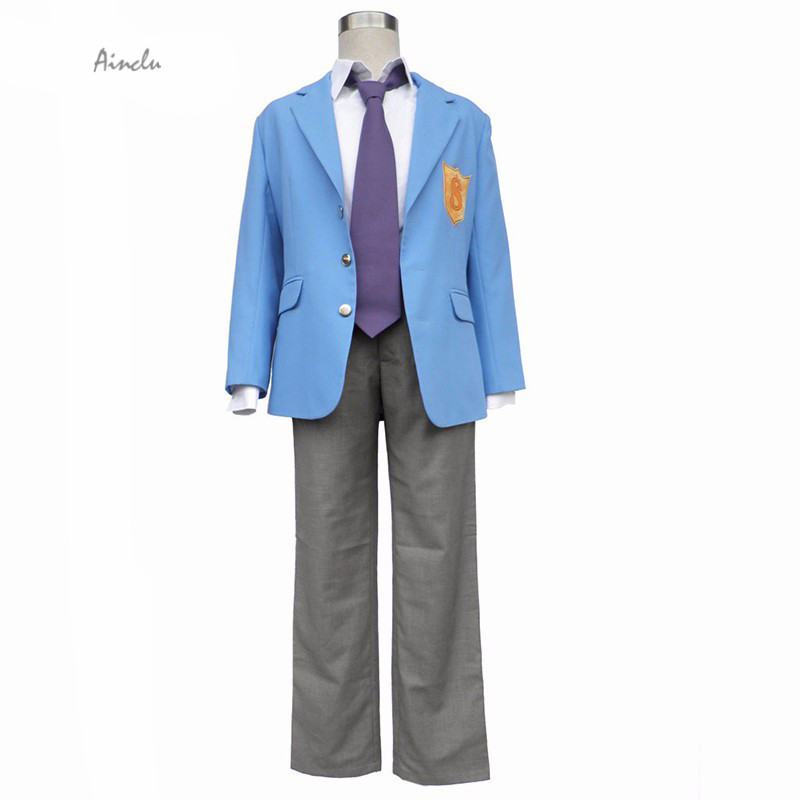 Ainclu Customize Halloween Costume Free Shipping Cosplay The springs of prince Boy School Uniform Christmas Costume For Boy