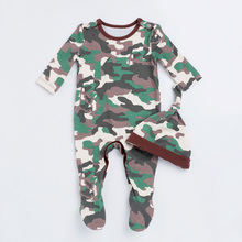 Army Romper Baby Girl Jumpsuit Long Sleeve Cotton Baby Clothes Spring Warm Clothing New Style Girl Clothes Fashion Jumpsuit Baby fashion baby boys romper rainbow baby clothes long sleeve cotton warm baby girl romper newborn winter clothes baby boy jumpsuit