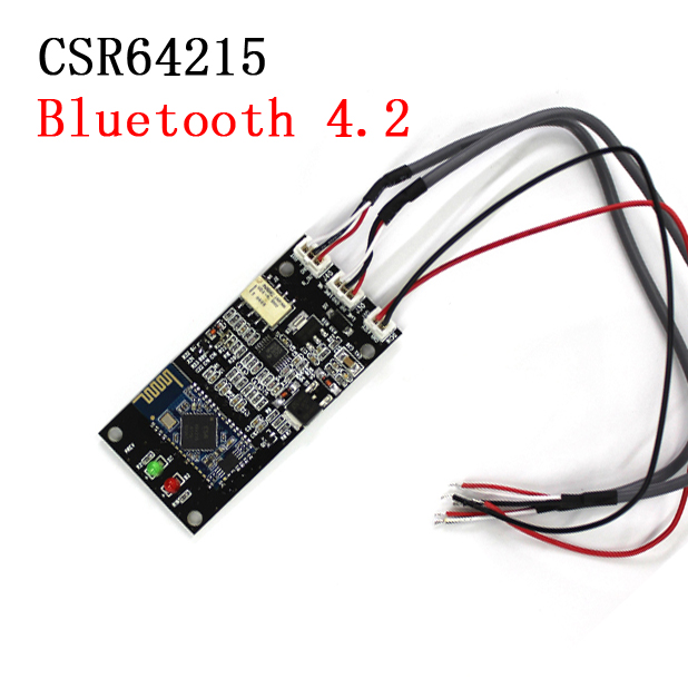 dc 12v APT-X Bluetooth 4.2 Audio Receiver Board Wireless Stereo Audio Lossless CSR64215 Module  for phone iPhone