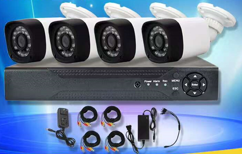 4CH CCTV System 1080N HDMI DVR 4PCS 1080P IR Outdoor Camera Home AHD Security System Surveillance Kits Email Alert anran new listing 8ch ahd camera system 1080n hdmi dvr p2p 8pcs 1 0 mp 1800tvl ir outdoor cctv camera system surveillance kit