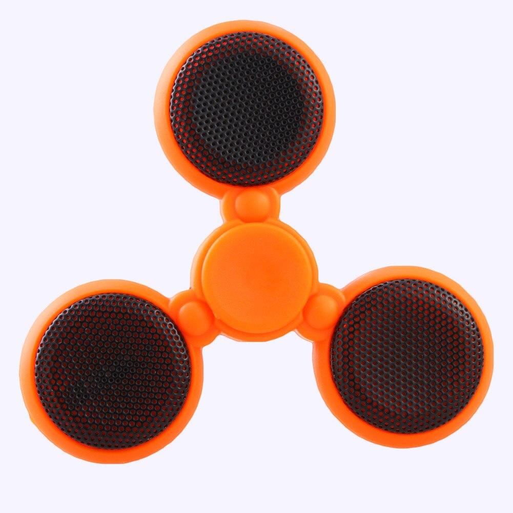 Беспроводной Bluetooth Spinner музыку Треугольники пальца гироскопа EDC Непоседа беспокойство стресса игрушка