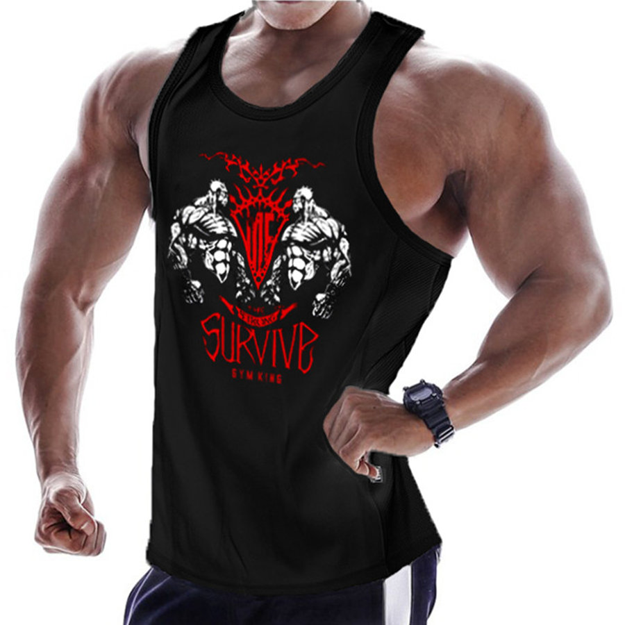 Mens Bodybuilding Tank Tops Gyms Workout Fitness Sleeveless shirt Crossfit clothing Golds Stringer Singlet Male Vest Undershirt