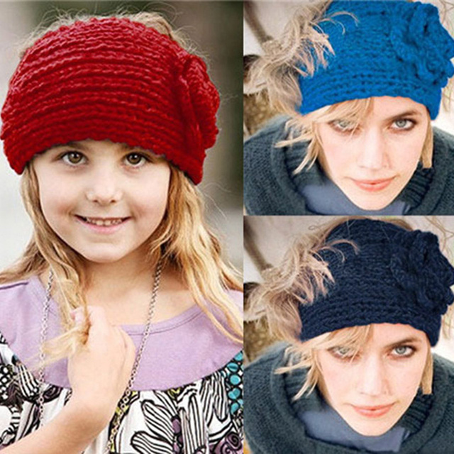 Vrouwen Hoofdband Dames Handgemaakte Haak Breien Haarband Wol Winter