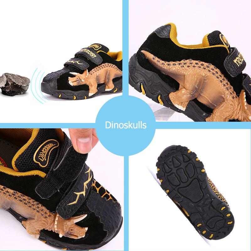 led luz calcados esportivos 27 dinossauro 34 03
