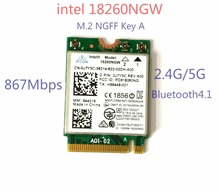 New Laptop Wlan Network For Intel 18260NGW Tri Band Wireless-AC 18260 NGFF 802.11ac 867Mbps Wifi+Bluetooth Wlan BT 4.1 M.2 Card