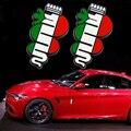 Oferta especial nuevo Estilo ALFA ROMEO alfa romeo Mito 147 156 159 166 Giulietta Araña GT Insignia Del Coche Del emblema Badge sticker