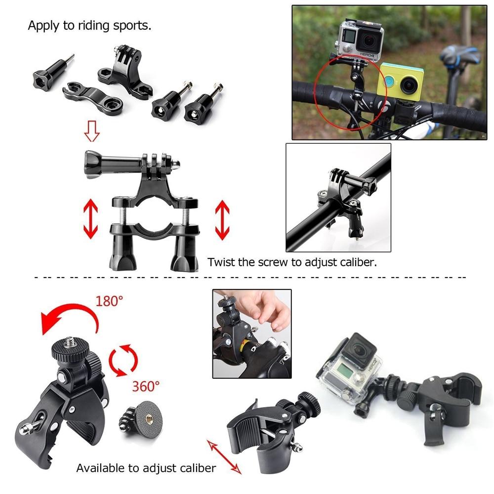 Комплекти за аксесоари за екшън - Камера и снимка - Снимка 4