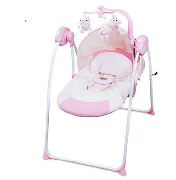 Electric baby rocking swing chair cradle placarders baby for Baby chaise lounge