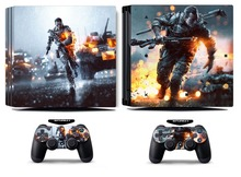 Battlefield 4 259 PS4 Pro Skin Sticker Vinyl Decal