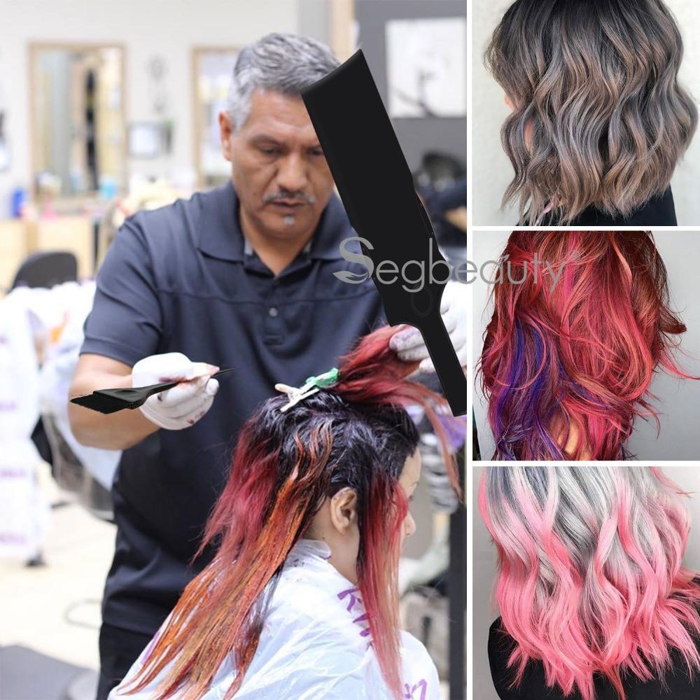 3pcs/set Hair Color Mixing Balayage Board and Brush Set Black Hair Dye Colouring Brush Comb Hairdressing Styling Tools