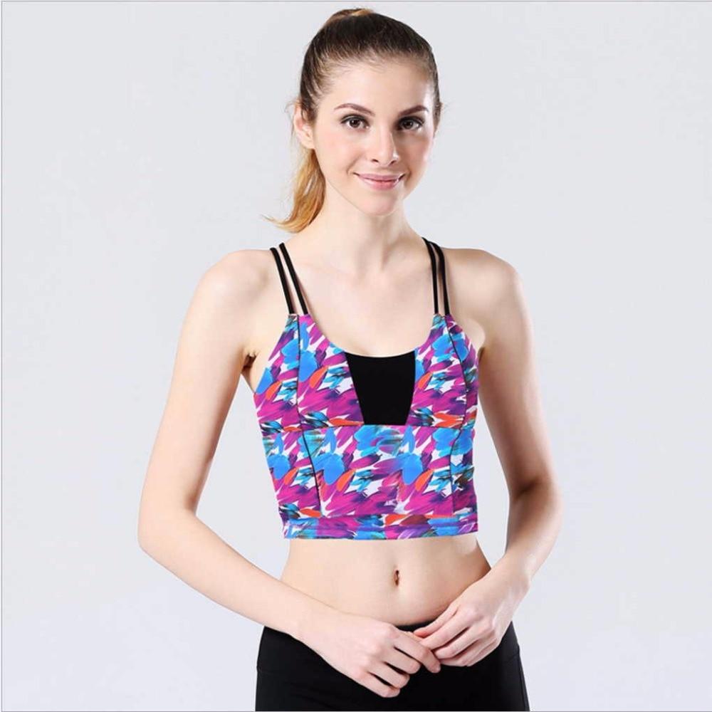 Brand New Women professione Yoga Shirt Shake Proof imbottito Palestra - Abbigliamento sportivo e accessori
