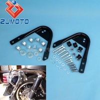 Motorcycle Detachable Two Up Luggage Rack Docking Hardware Kit For Harley Touring Road King Road Street Electra Glide 1997 2008