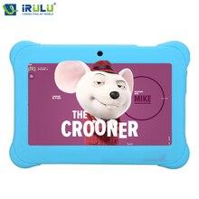 Оригинальные y1 irulu 7 «BabyPad Quad Core Android 4.4 Tablet PC 0.3MP 1 ГБ RAM 8 ГБ ROM 2800 мАч Wifi w/Силиконовые дело Подарок Для Детей