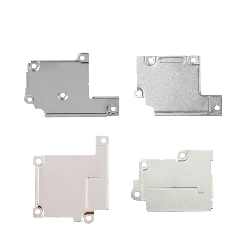 5pcs 100% New For iPhone 5 5S 5C SE 6 6 Plus 7 6S 6S Plus Lcd Display Flex Cable Metal Wifi Antenna Cover Plate Holder Bracket image