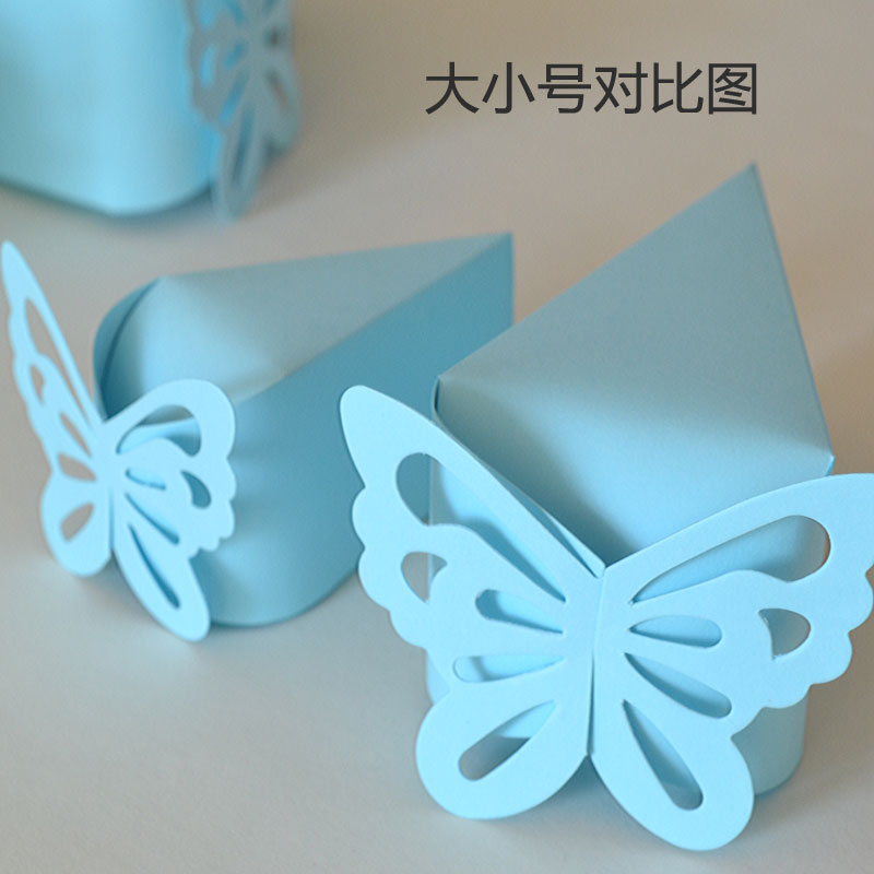 20Pcs/lot Wholesale Butterfly Small Cake Candy Box /Romantic Wedding ...