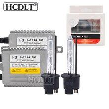 HCDLT 35 W Yeaky Xenon H1 H3 H11 9005 9006 H7 комплект ксеноновых фар 4500 K 5500 K 6500 K HID лампа 35 Вт DLT F3 быстро яркий тонкий балласт