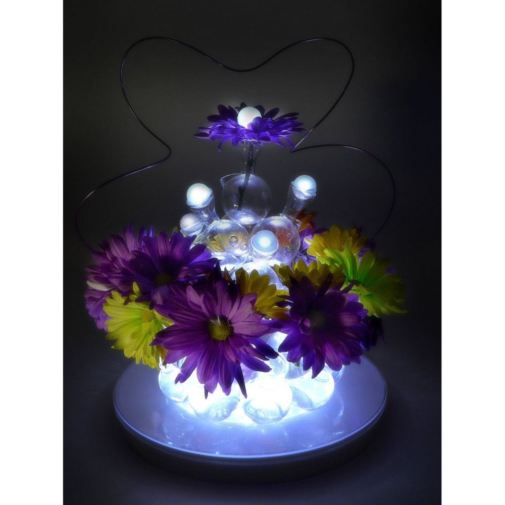 2019 Mini Floating Fairy Lights Waterproof Vase Wedding Christmas Party Event Decor In Holiday Lighting From On