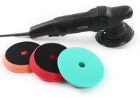 15 мм или мм 21 мм двойного действия полировщик/одна машина + три губки пластины + D ручка + запасная Угольная щетка и т. д.