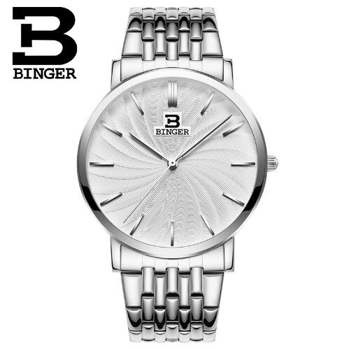 Geneva Binger Men Dress Watches 2017 Top Brand Luxury Famous Quartz Watch Male Clock Wrist Watch Relogio Masculino wristwatch new famous brand binger geneva casual quartz watch men stainless steel dress watches relogio feminino man clock hot