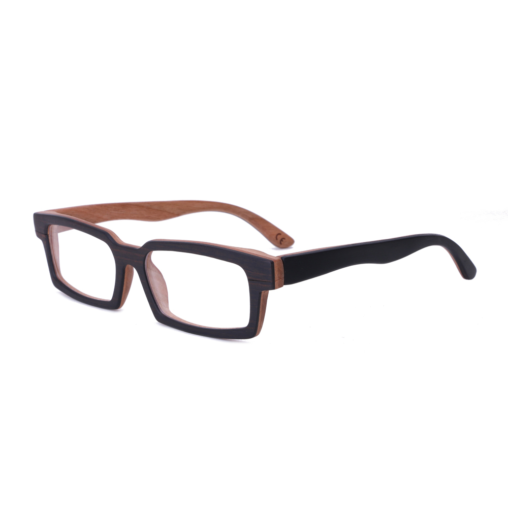 4afa6be33c631 BerWer de óculos Homens mulheres óculos de Madeira De Madeira De madeira de  Bambu óculos