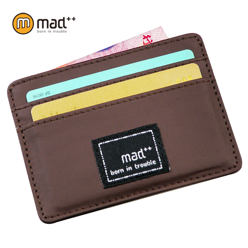 Urban Mini Sized Super Thin Slim Small Canvas ID Bank Credit Plastic Card Case Holder Wallet For Men Women Students New Design 2017 new top brand pu thin business id credit card holder wallets pocket case bank credit card package case card box porte carte