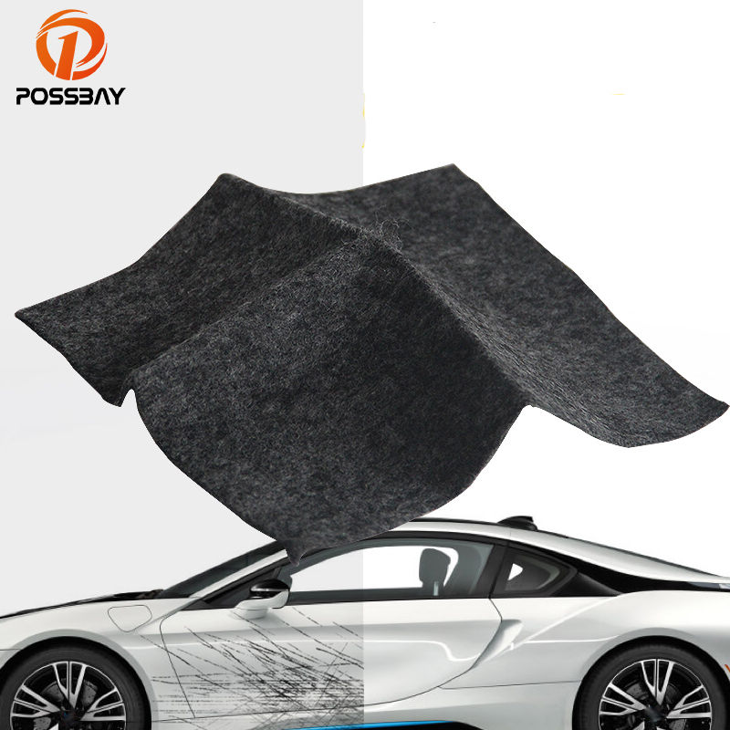 POSSBAY <font><b>Car</b></font> Scratch Repair Tool Cloth Nano Material Surface Repair Rags Automobile <font><b>Light</b></font> Paint Scratches Remover Scuffs Polish image