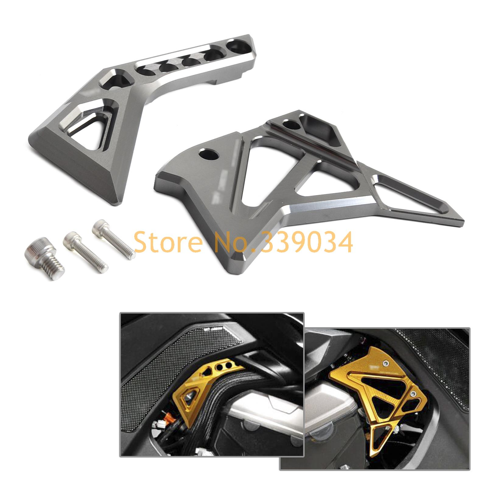 CNC Fuel Injection Jnjector Cover Guard For Kawasaki Z1000 2014 2015 2016 Z 1000 cnc aluminum frame fuel injection injector cover protector guard for kawasaki z1000 2014 2016 14 15 16