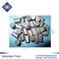 Free Shipping 1KG YG11C T107 T110 Hard Alloy Carbide Geological Mine Rock Cutter Head Teeth Octagonal