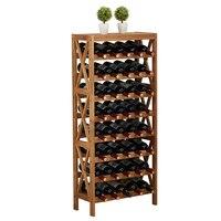 Современный деревянный винный шкаф дисплей полка бар Глобус для домашнего бара мебель дуб дерево 25 40 бутылки винный стеллаж держатели для х