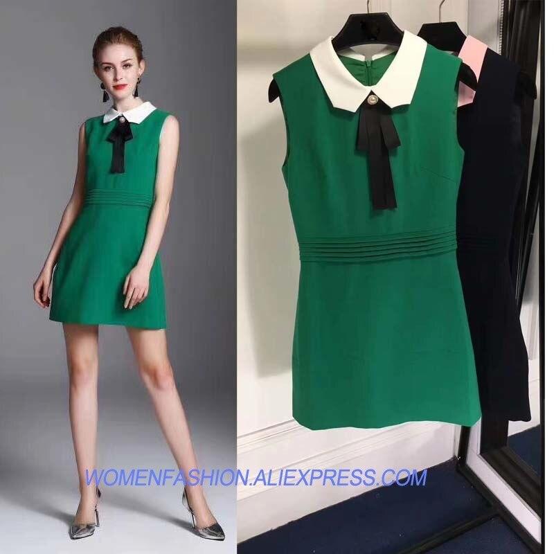 c8c266ae1f8bb Élégant Femmes De Tempérament Généreux Pour Robes Vêtements Bureau Simple  Les Vert Sukienka Mini D été Robe Et Mode 8ZHHwt