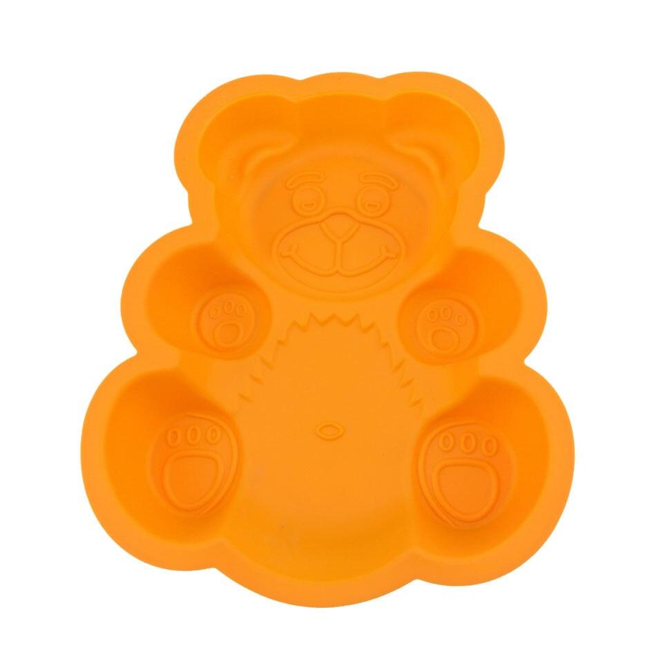 яонова силикформа для выпечки в виде медведя с доставкой из России
