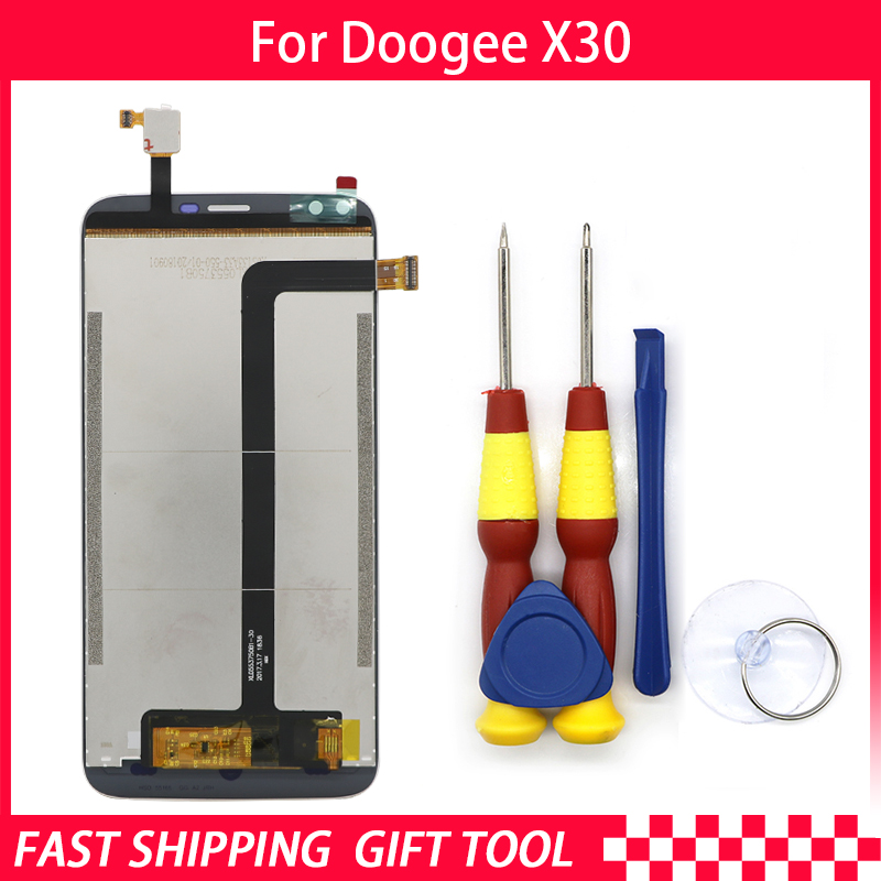 New original Touch Screen LCD Display LCD Screen For DOOGEE X30 Replacement Parts + Disassemble Tool+3M AdhesiveNew original Touch Screen LCD Display LCD Screen For DOOGEE X30 Replacement Parts + Disassemble Tool+3M Adhesive