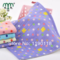 2016 New Top Sales Free Shipping 100% Cotton Woven Hand Towel Dobby Floral Square Cloths face towel quick dry washcloths