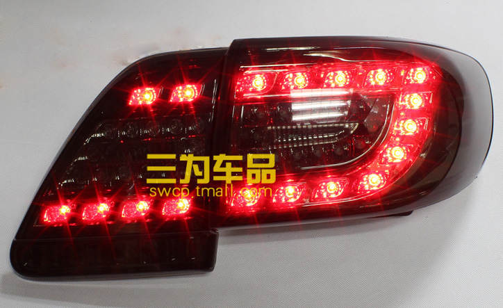 Hireno Tail Lamp for Kia Sportage R 2011 2012 2013 2014 2015 Taillight Rear Lamp Parking Brake Turn Signal Lights