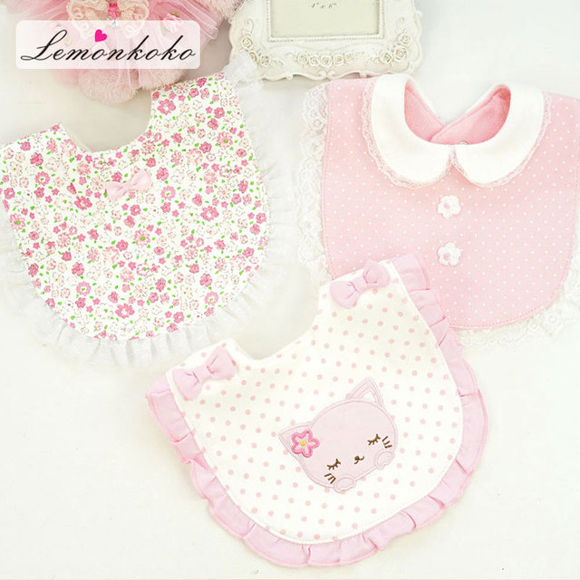 [Lemnkoko] 2018 New Cotton Baby Babador Bandana Bibs for Babies Scarf Boys Girls Baby Bib Newborn Burp Cloths 29*20 Cm
