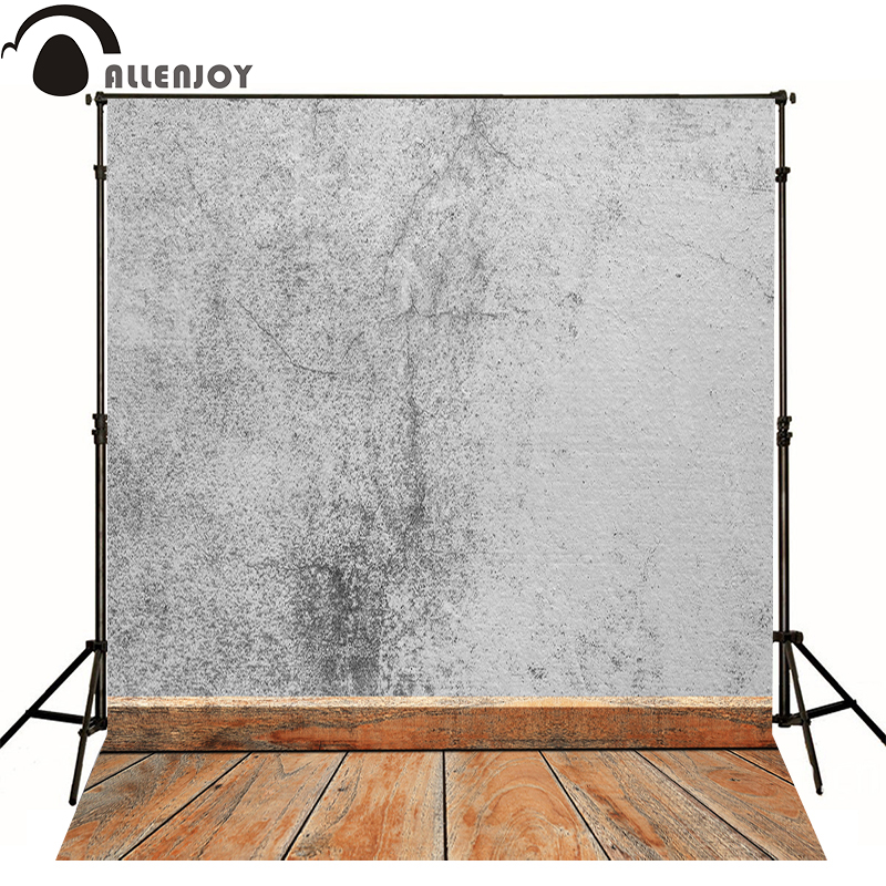 Allenjoy photography backdrops for sale Black and white floor kids vinyl send rolled Professional photographic background studio