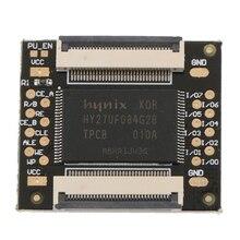 듀얼 nand squirt360 칩 16 mb nand mbyte pcb 2 차 nand pcb 수리 부품 (xbox 360 콘솔 용)