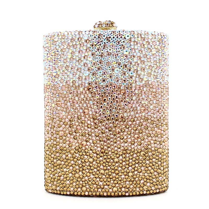 Newest fashion women evening bag Luxury 3 colours radient rhinestone clutch purse crystal handbag party and wedding wallet карандаш для век kajal