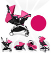 Newborn baby car safety seat basket-light portable push car umbrella folding stroller high landscape