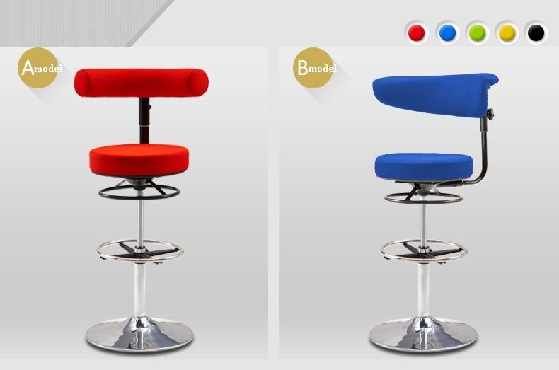 computer lift rotation stool bar Church Club chair red blue black green color free shipping bar chair yellow red blue green white stool free shipping