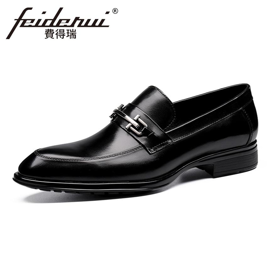 Elegant Italian Genuine Leather Mens Loafers Pointed Toe Slip on Handmade Man Formal Footwear Comfortable Casual Shoes YMX308Elegant Italian Genuine Leather Mens Loafers Pointed Toe Slip on Handmade Man Formal Footwear Comfortable Casual Shoes YMX308